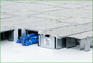 Gridd ultra-low-profile raised access floor