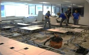 Raised Access Floor FreeAxez - What is access flooring