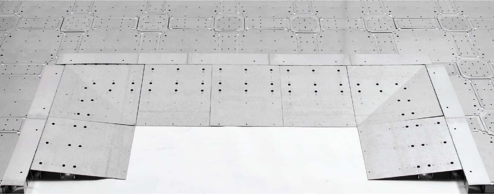Low Profile Raised Floor Ramps