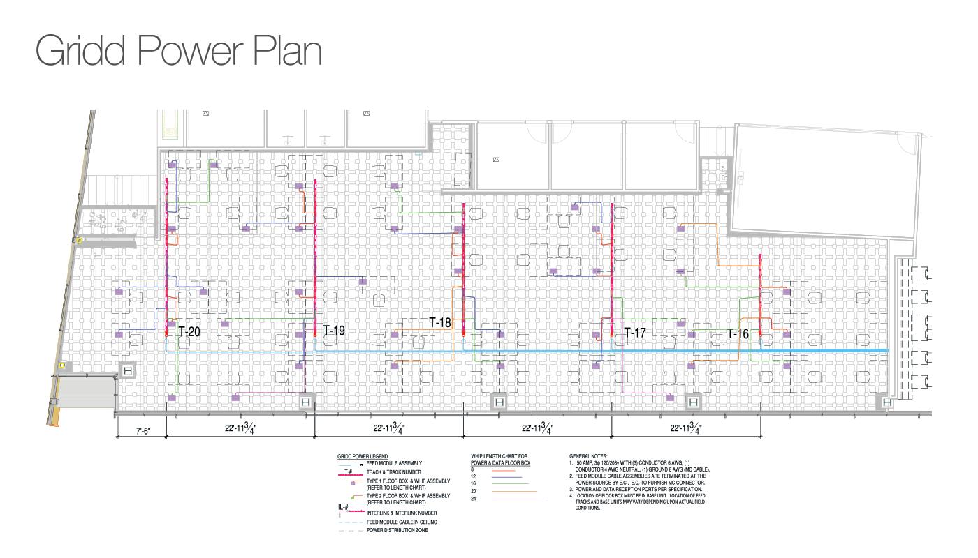 Gridd Power Access Flooring Companies Plan