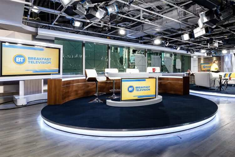 Television Studio Flooring